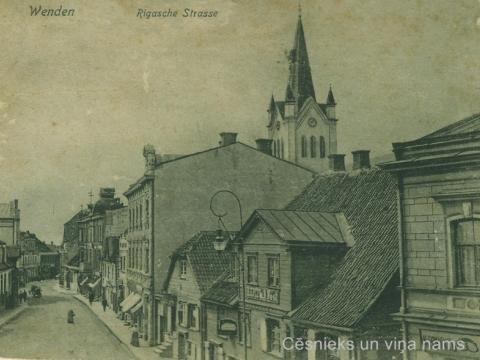Nami Cēsīs, Rīgas ielā 20. gs. sākumā