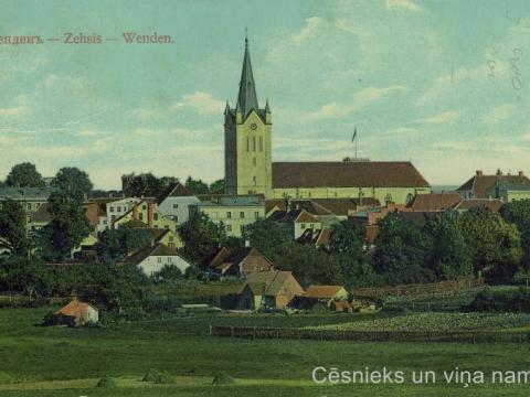 Pastkarte nosūtīta 1913.g.; CM 47329