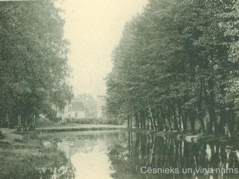 Alekša parks, grāfa Emanuela Zīversa īpašums 20. gs. sākumā