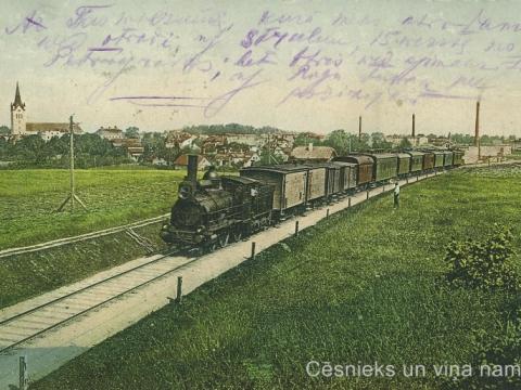 Cēsis - vilciens uz Rīgu