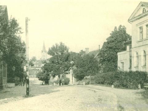 Cēsis, Gaujas iela 20. gs. sākumā