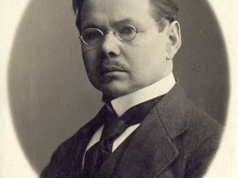 Fotogrāfs Gotlībs Matīss (1878-1944) 20. gs. sākumā; foto no ģimenes albūma; CM 113551 Gotlibs Matiss