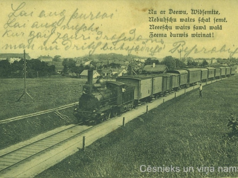 Postcard was sent to Mrs. H. Misin, without poststamp