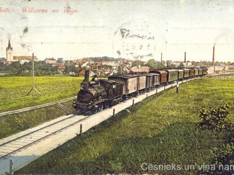 Pastkarte nosūtīta 1912.g., CM 63234