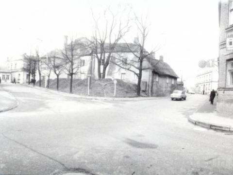 Skats uz Bergmaņa mājas vietu ap 1978. gadu; CMzp 40773
