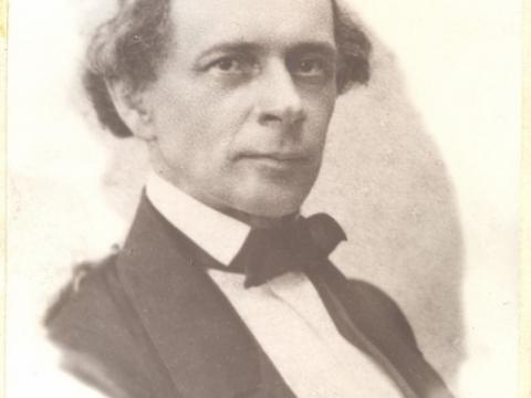 """Medicīnas doktors Aleksis Adolfi (1815-1874), Cēsu pilsētas ārsts, Foto albūmā """"Cēsu pilsētas slimnīca no 1847. gada"""" CM 5781"""