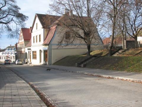 Cēsis, Rīgas ielas 36. nams 2013. g. 22. oktobrī. D. Cepurītes foto