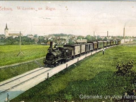 Pastkarte nosūtīta 1911.g.; CM 10489