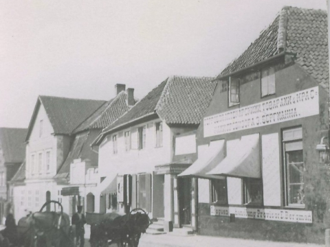 The bildings on Rigas Street 32, 34 and 36, beging of the 20th century; CMzp 22594