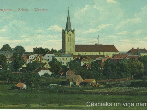 Pastkarte nosūtīta 1912.g.; CM 66188